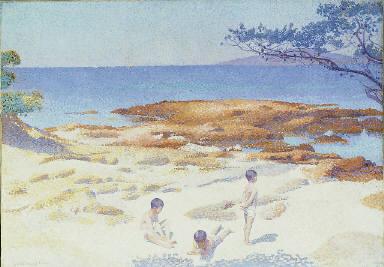 Beach at Cabasson (Plage de baigne-cul)