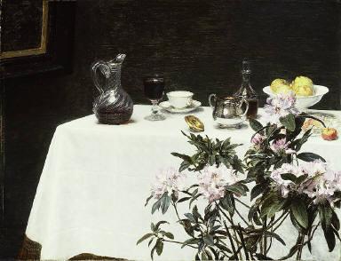 [Still Life: Corner of a Table, Nature morte; le coin de table]