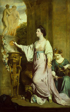 Lady Sarah Bunbury Sacrificing to the Graces