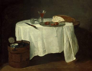 [The White Tablecloth, La Nappe Blanche]