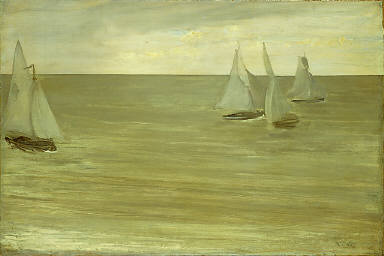 Trouville (Gray and Green, the Silver Sea)