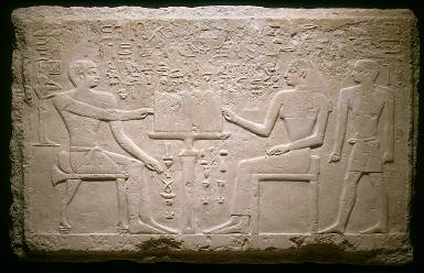 Wall Fragment from the Tomb of Thenti