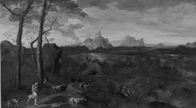 Landscape with a Herdsman and Goats