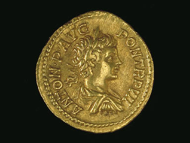 Coin Showing Emperor Caracalla