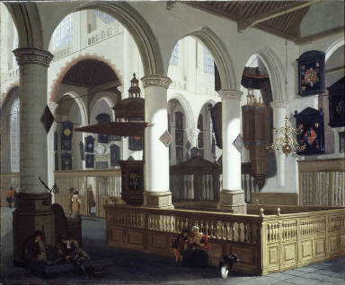 [The Oude Kerk, Delft, The Old Church of Delft]