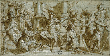 Mars (or Alexander?) Distributing the Victor's Wreaths
