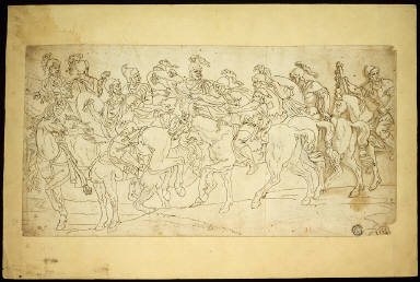 Roman Cavalry on the March