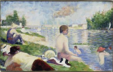 Final Study for 'Bathers at Asnières'
