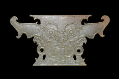Plaque with Demonic Mask