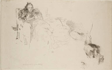 [Portrait Study: Mrs. Philip, No. 4 [Studies of the Philips] and Portrait Study [Geneviève Mallarmé], Portrait Study of Mrs. Phillip]