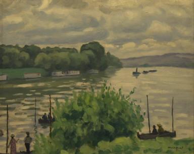 [The Seine at Triel, La Seine â Triel]