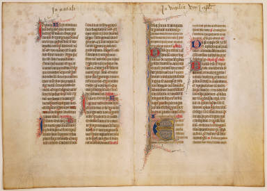 Franciscan Missal: Double Page