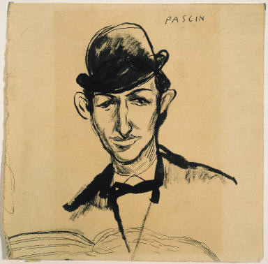 Self Portrait in a Derby Hat