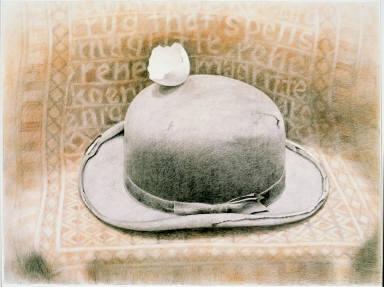 Rug That Spells Magritte