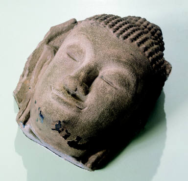 Head of a Reclining Buddha