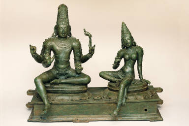 Shiva and Parvati (Somaskanda)