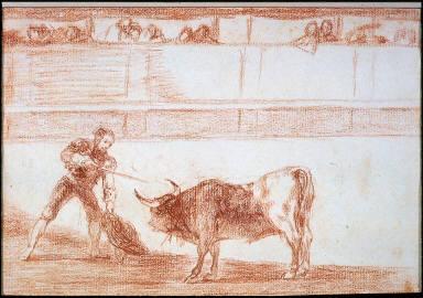 Pedro Romero Killing a Bull that He Has Subdued