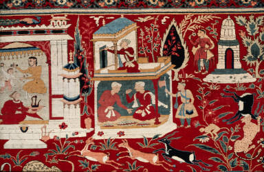 Pictorial carpet