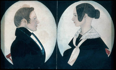 Double Portrait: Mr. and Mrs. Miles Reed