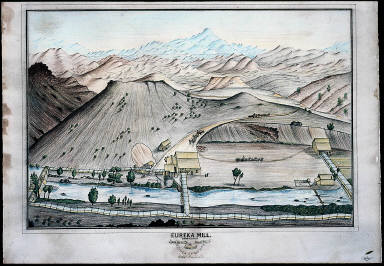 Eureka Mill, Nevada