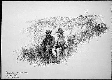 Grant and Pemberton, July 3, 1863