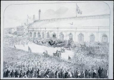 Reception of Col. Robert Anderson, Cincinnati, 1861