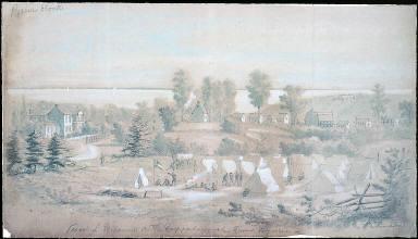 View of Urbanna, on the Rappahannock
