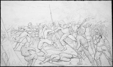 The fight at Santa Rosa Island