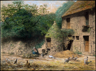 House with a Well at Gruchy