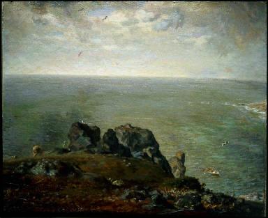 Cliffs at Gruchy