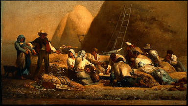 Harvesters Resting (Ruth and Boaz)