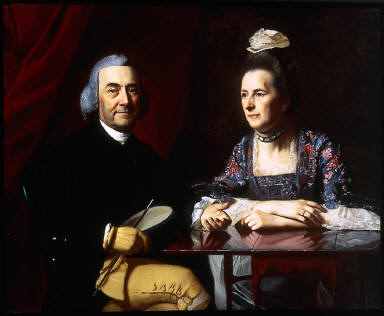 Mr. and Mrs. Isaac Winslow (Jemima Debuke)