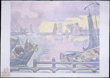 Bateaux à Flessingue (Ships in Vlessingen, Holland)