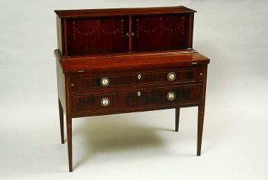 Tambour desk