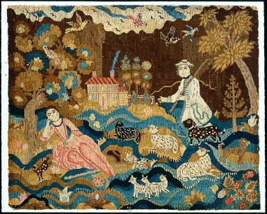 Reclining Shepherdess