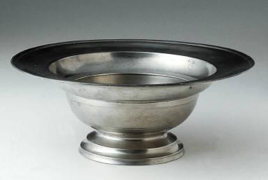 Footed baptismal bowl