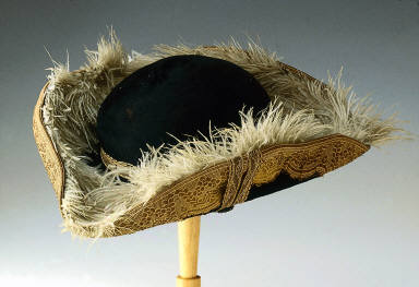 Tricorne hat