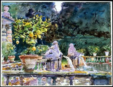 Villa di Marlia, Lucca: A Fountain