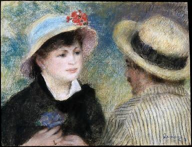 Boating Couple (Aline Charigot and Renoir)