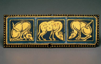 Plaque with Beasts