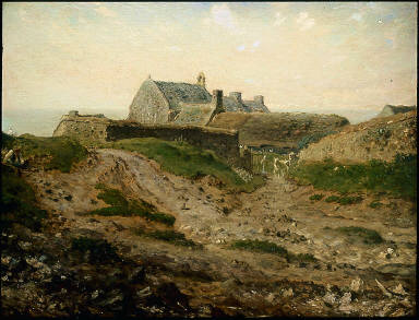 Priory at Vauville, Normandy