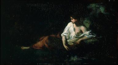Woman Reclining in a Landscape