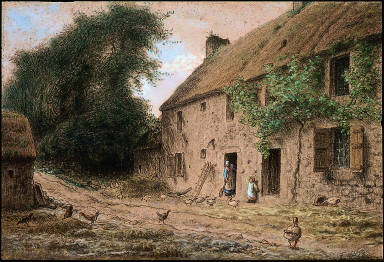 Millet's Birthplace at Gruchy