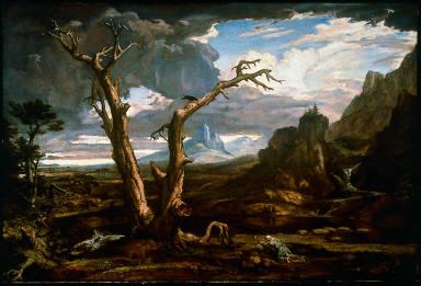 Elijah in the Desert