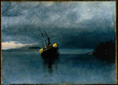 "Wreck of the ""Ancon"" in Loring Bay, Alaska"