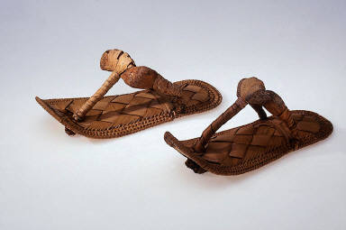 One of a pair of sandals