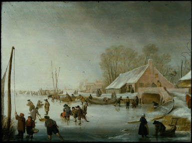 Skating on a Frozen River