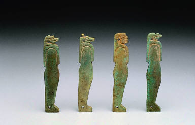 Four sons of Horus Amulets