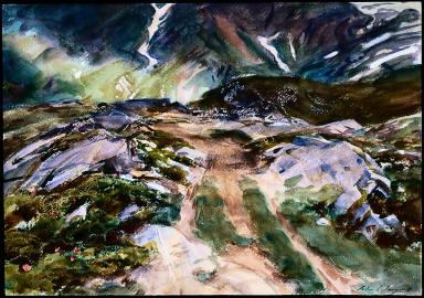 Simplon Pass: The Foreground