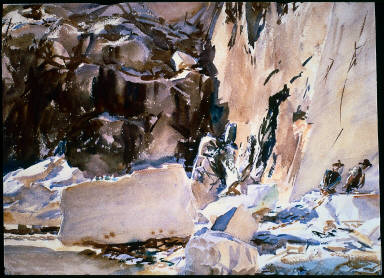 Carrara: In a Quarry